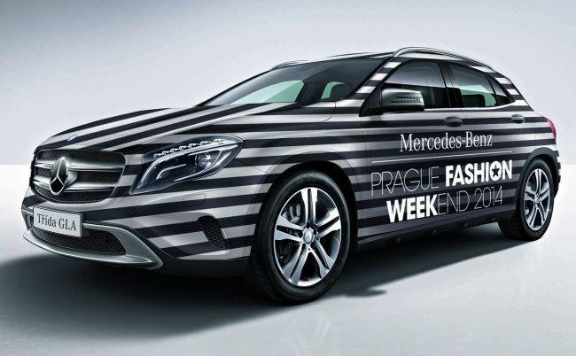 Vítězný návrh Mercedes-Benz Fashion Police
