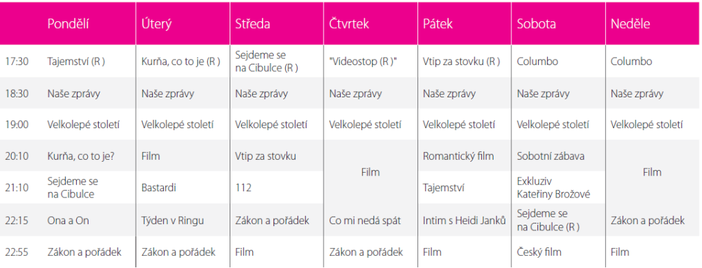 TV Bar_schema podzim