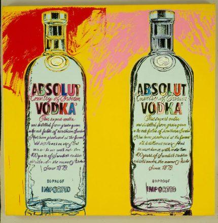 Originální malba Andyho Warhola z roku 1986