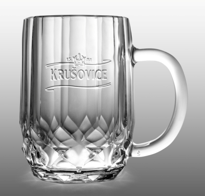 Nová sklenice Rudolf od Maxima Velčovského