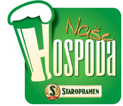Logo nového gastronomického konceptu Naše hospoda