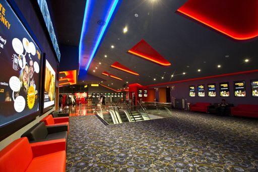 Nově zrekonstruované multikino Cinema City v Malém Špalíčku