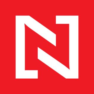 Logo slovenského zpravodajského serveru Projekt N. Brzy přibude i černá varianta.
