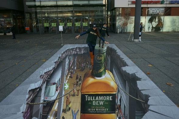 Tullamore Dew - 3D malba