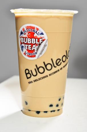 Bubbleology - kelímek s novým britským motivem