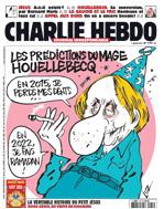 Charlie Hebdo s Michelem Houellebecqem