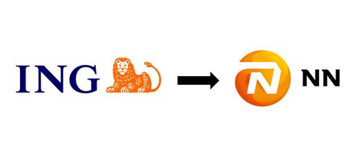 Změna loga společnosti ING pojišťovna na NN