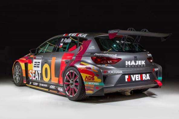 Seat Leon Cup Racer pro Petra Fulína na ETCC
