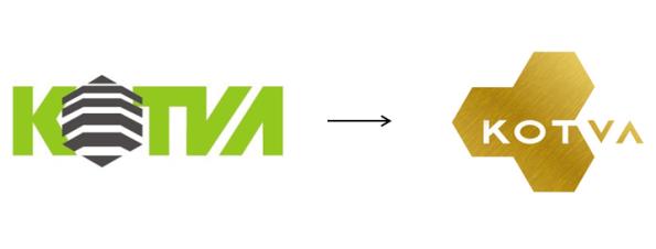 Změna loga obchodního domu Kotva v roce 2013