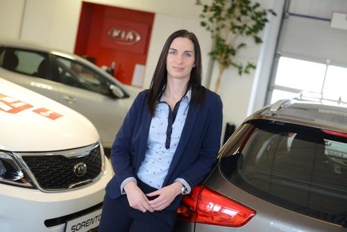 Sandra Plachá - nová marketingová manažerka společnosti Kia Motors Czech