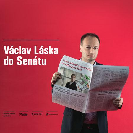 Senátní kampaň Václava Lásky