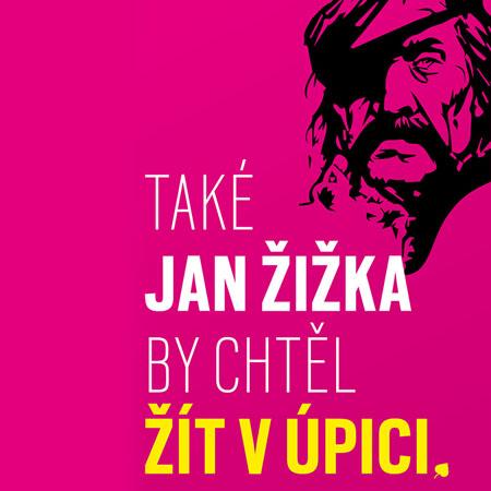 Nízkorozpočtová kampaň Žít v Úpici