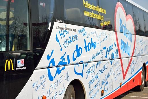 Autobus české hokejové reprezentace