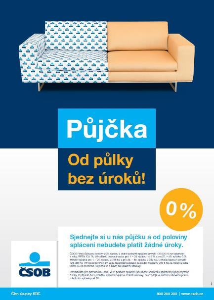 Plakát-ČSOB Půjčky