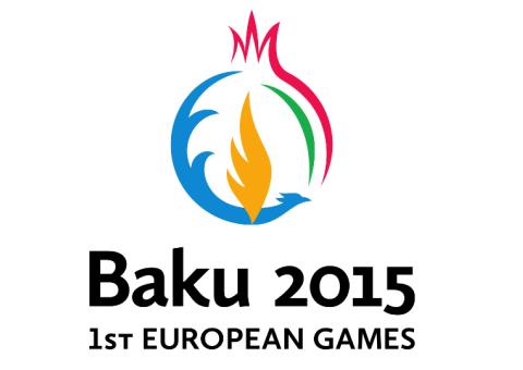 Logo Evropských her Baku 2015