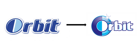 Změna loga značky Orbit