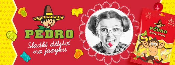 Outdoorová reklama značky Pedro