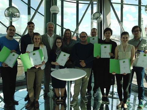 Letošní držitelé European Advertising Certifikate, foto: MediaGuru.cz