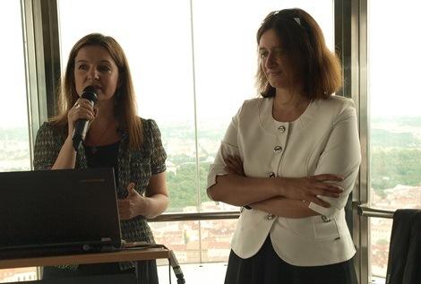Hana Friedlaenderová a Tereza Šimečková, foto: Denisa Keltová, ATO