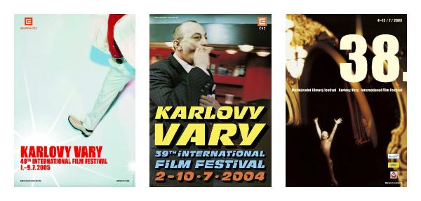 Plakáty 40., 39. a 38. ročníku, zdroj: KVIFF