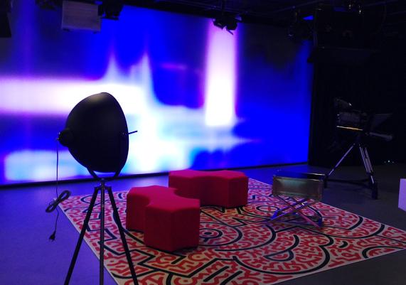 Nové studio TV Óčko, foto: MediaGuru.cz