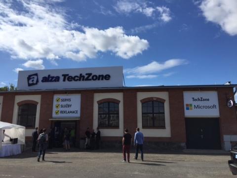 Alza TechZone, foto: MediaGuru