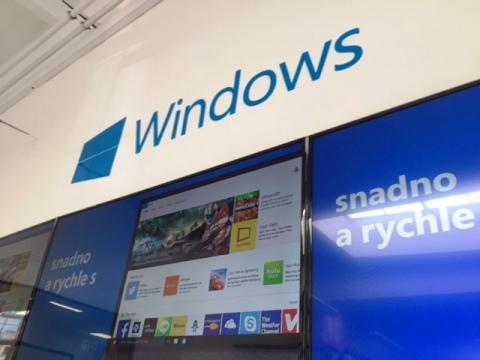 Technická zóna v režii Microsoftu, foto: MediaGuru