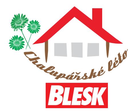 Logo projektu deníku Blesk Chalupářské léto