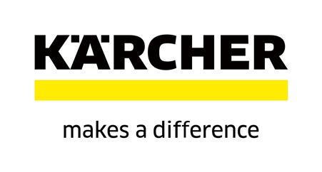 Logo firmy Kärcher s claimem