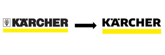 Nové logo firmy Kärcher
