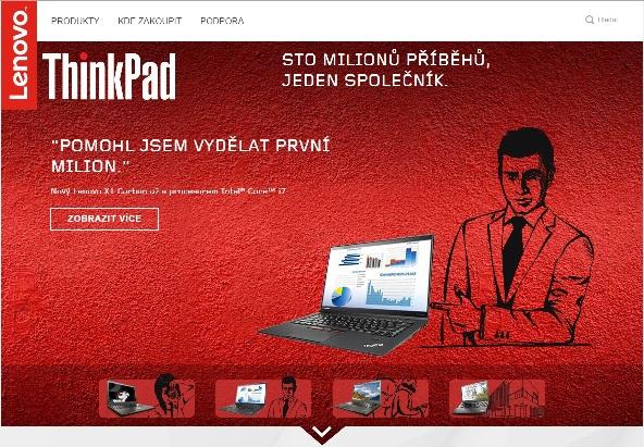 Lenovo ThinkPad - web