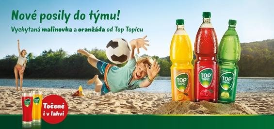 Klíčový vizuál letní kampaně Top Topic, foto: Tomáš Třeštík