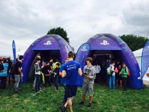Prezentace Playstation na festivalu Utubering, zdroj: MediaGuru