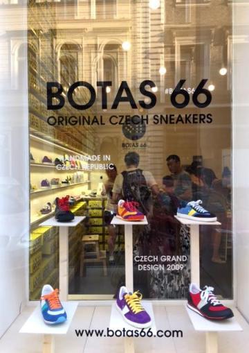 Obchod Botas 66 ve Skořepce, foto: MediaGuru.cz