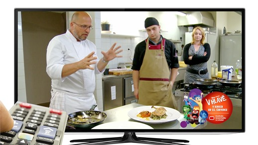 Ukázka HbbTV vysílání TV Prima, foto: FTV Prima