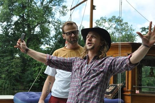 Foto z natáčení nového seriálu Na vodě, zdroj: TV Nova