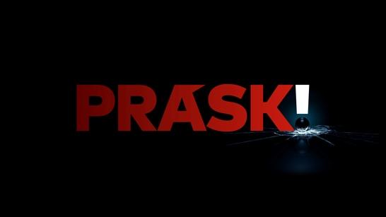 Logo pořadu Prásk, zdroj: TV Nova