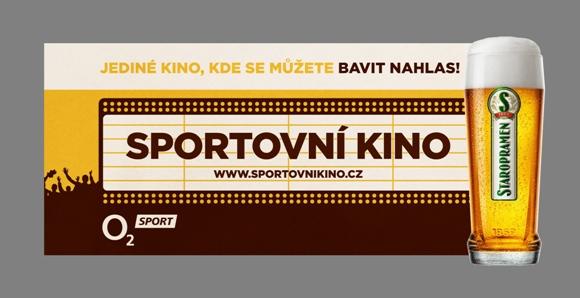 Logo nového on-trade projektu Sportovní kino