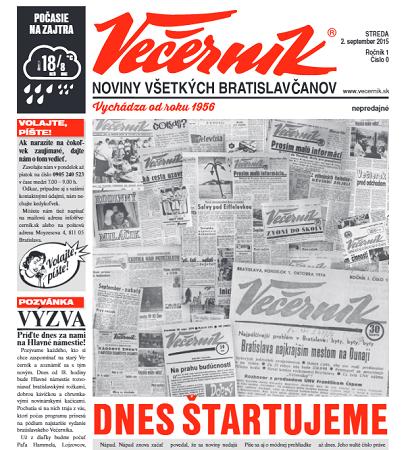 Bratislavsky Vecernik