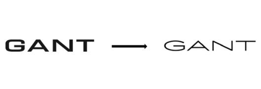 Změna loga značky Gant