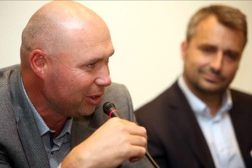 Hynek Cimoradský a Vladimír Pořízek, foto: Flema.