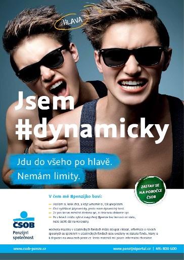 Plakát-Jsem dynamický