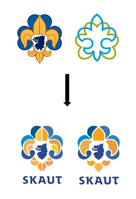 Původní a nové logo