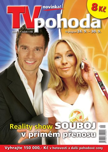 První vydání týdeníku TV pohoda 14.9. 2005
