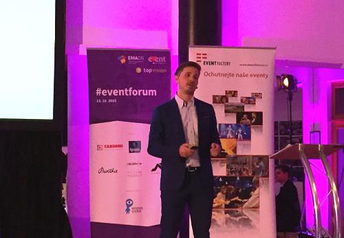 Jan Gemrich na #eventforum2015.