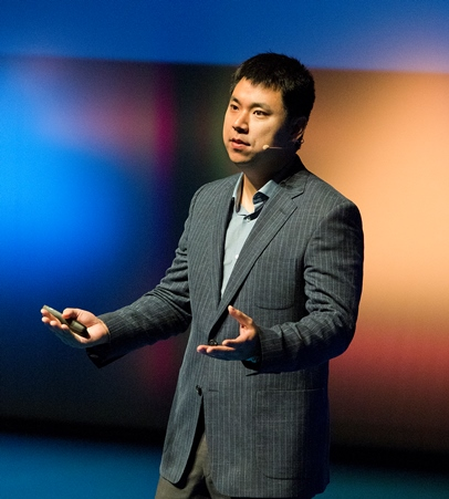 Larry Kim na konferenci Marketing Festival 2015. Foto: Marketing Festival