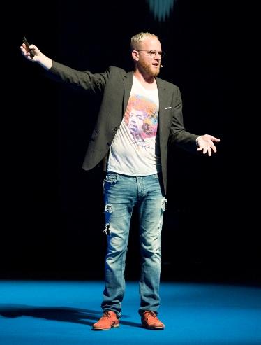 Oli Gardner, foto: Marketing Festival.