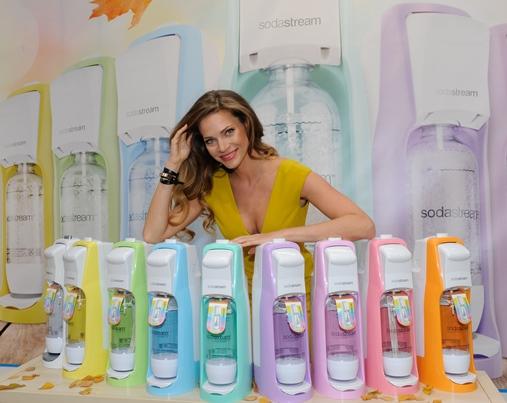 Nová tvář značky SodaStream Andrea Verešová