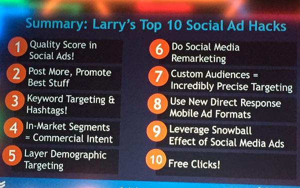 Doporučení Larryho Kima, prezentace na Marketing Festival 2015.
