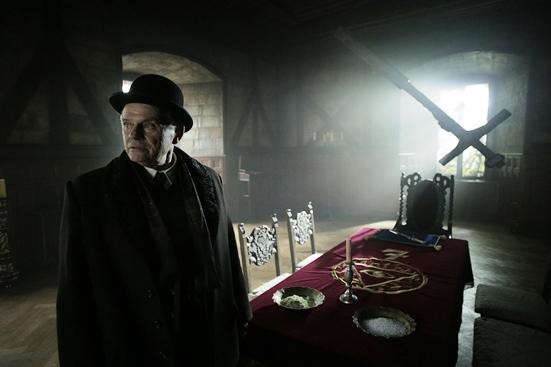 Z natáčení filmu Zádušní oběť, foto: Česká televize.